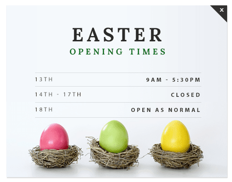 Pumping Solutions UK Ltd Easter Opening Hours