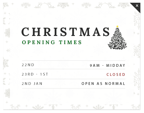 Pumping Solutions UK Ltd Christmas Opening Hours