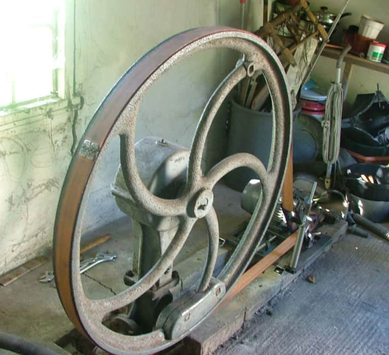 Old Domestic Water Pump