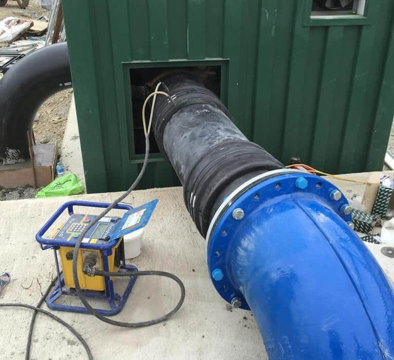 large water pipe