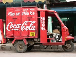 coca cola transport